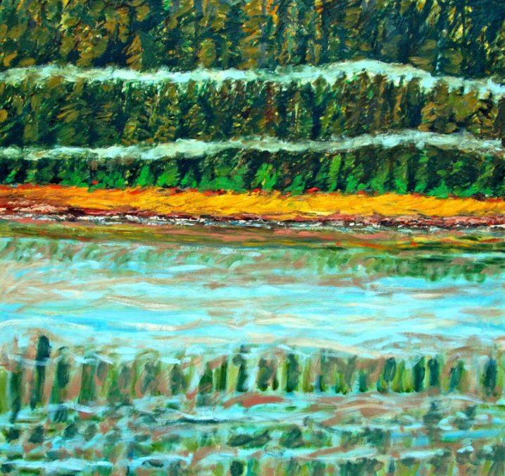 """Alaska Morning 36x38""""o/c"""